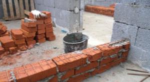 армирование кирпичной кладки стен