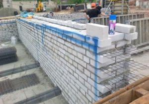 Поперечное армирование стен