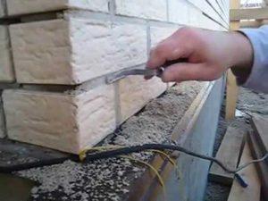 Как делается затирка швов кирпичной кладки