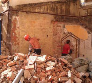 демонтаж кирпичных стен своими руками