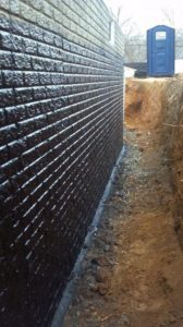 Как осуществляется гидроизоляция кирпичных стен