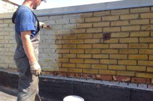 гидроизоляция кирпичных стен