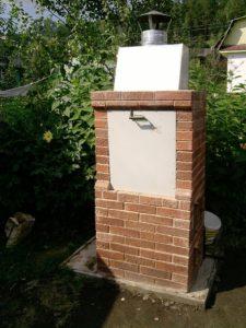 Строение маленькой коптильня: пошаговая инструкция