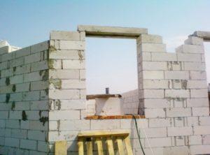 опирание перемычек на кирпичную стену по СНиП