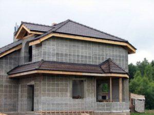 Технология возведения монолитно-кирпичного дома