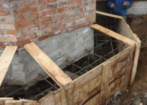 Пошаговое укрепление фундамента дома