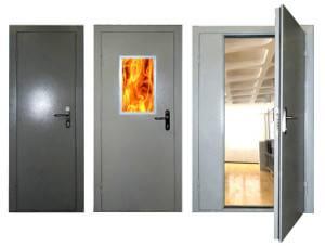 противопожарная дверь в частном доме